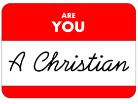 Are You A Christian